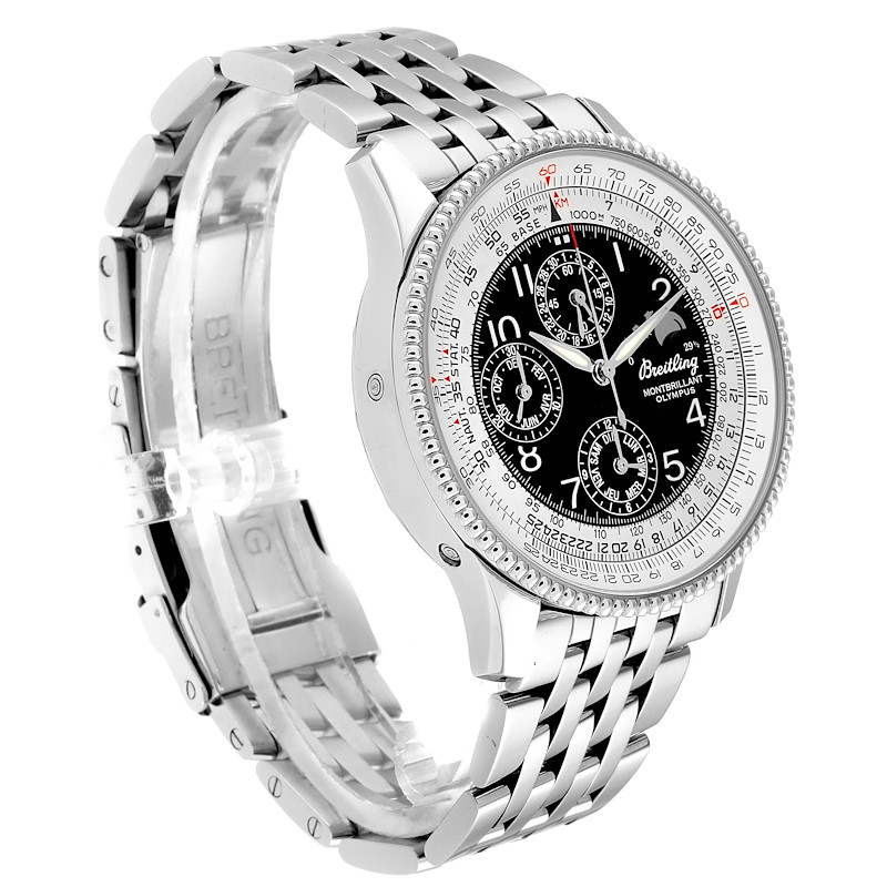 Breitling Navitimer Montbrillant Olympus Chronograph Mens Watch A19350 SwissWatchExpo