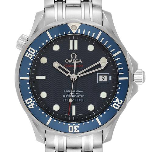 Photo of Omega Seamaster Bond 300M Co-Axial Steel Mens Watch 2220.80.00 Box Card
