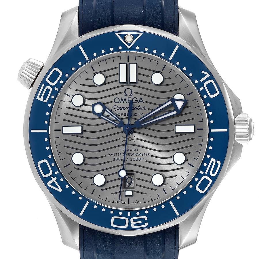 Omega Seamaster Diver Master Chronometer Watch 210.32.42.20.06.001 Box Card SwissWatchExpo