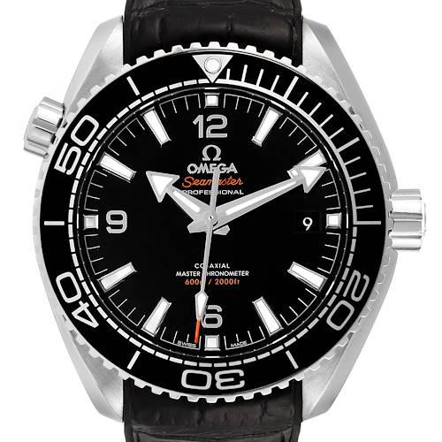 Photo of Omega Seamaster Planet Ocean 600m Mens Watch 215.33.44.21.01.001 Box Card