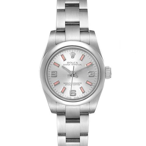 Photo of Rolex Oyster Perpetual Pink Luminous Markers Ladies Watch 176200