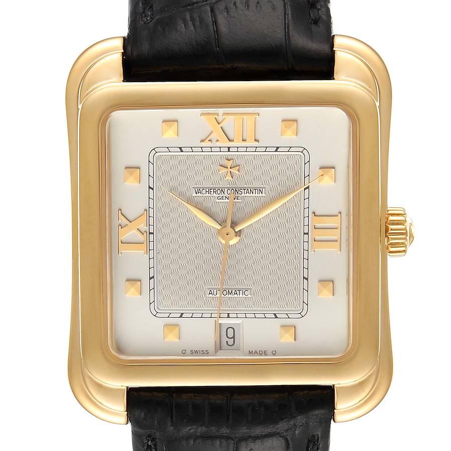Vacheron Constantin Historiques Toledo 18K Yellow Gold Mens Watch 42100 SwissWatchExpo