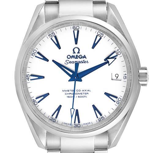 Photo of Omega Seamaster Aqua Terra Titanium Mens Watch 231.90.39.21.04.001 Box Card