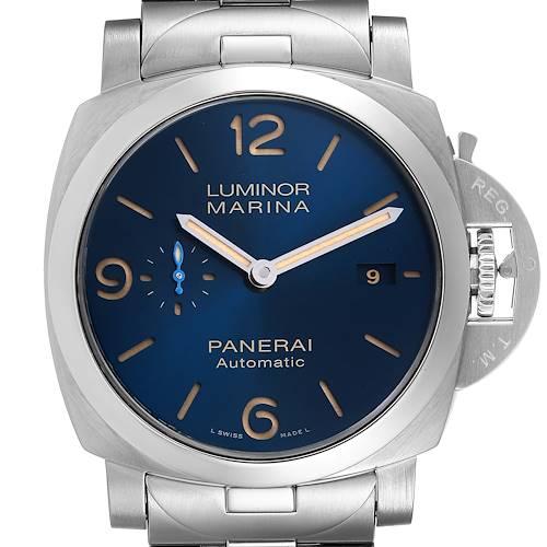 Photo of Panerai Luminor Marina 1950 Ginza Boutique Steel Watch PAM00958 Box Papers