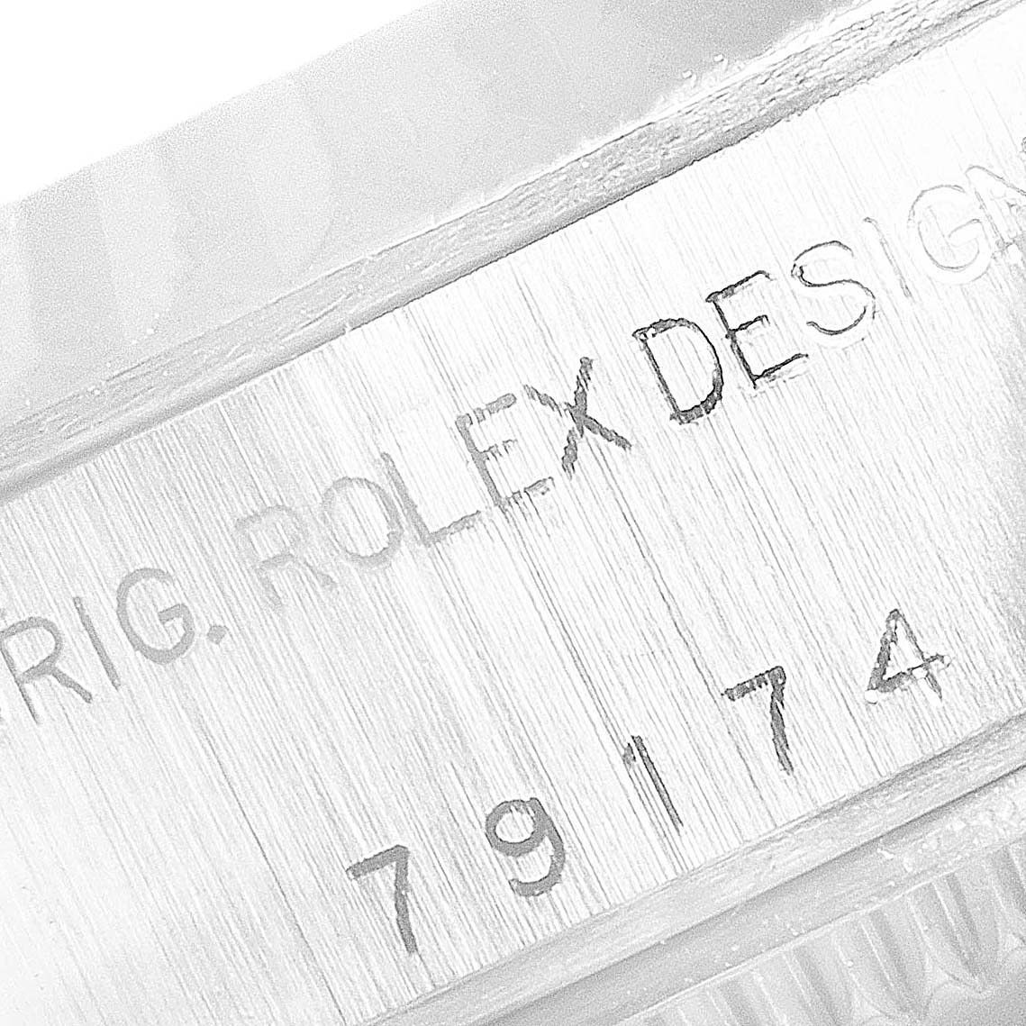 Rolex Datejust Steel White Gold Silver Dial Ladies Watch 79174 Box Papers SwissWatchExpo