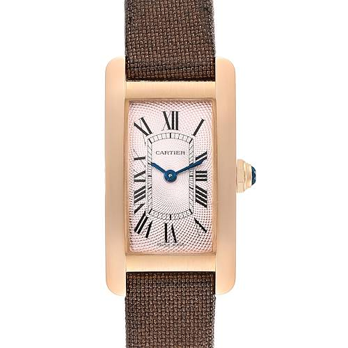 Photo of Cartier Tank Americaine Rose Gold Small Ladies Watch 2503
