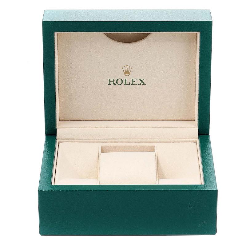 Rolex Datejust Steel White Gold MOP Diamond Ladies Watch 179174 Box Card SwissWatchExpo