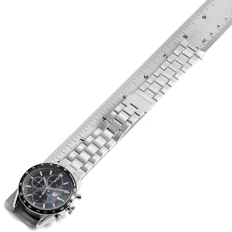 Tag Heuer Carrera Mother of Pearl Limited Edition Mens Watch CV201K SwissWatchExpo