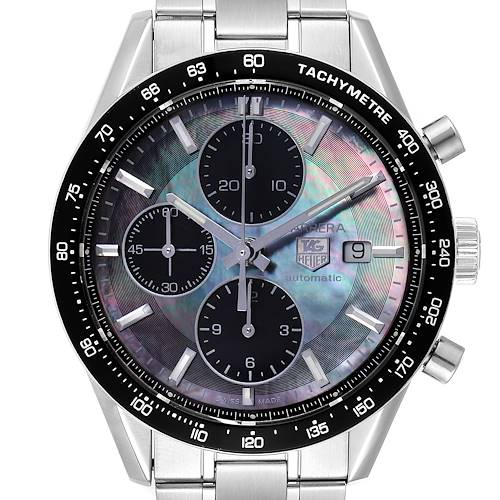 Photo of Tag Heuer Carrera Mother of Pearl Limited Edition Mens Watch CV201K