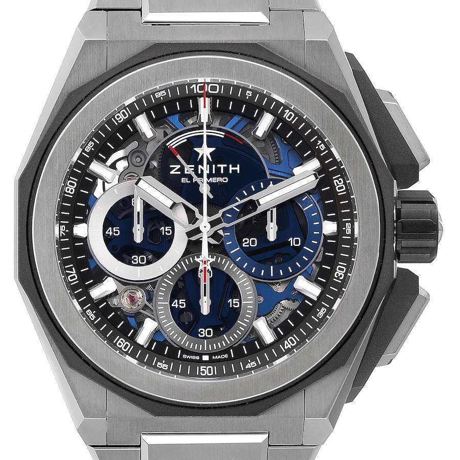 Zenith Defy Extreme El Primero Chrono Titanium Watch 95.9100.9004 Box Card SwissWatchExpo