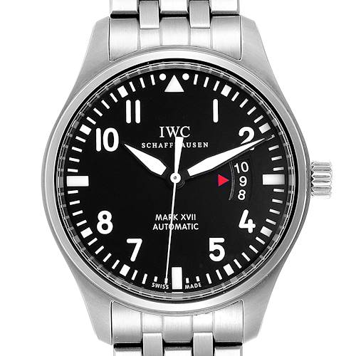 Photo of IWC Pilots Mark XVII Automatic Steel Mens Watch IW326504