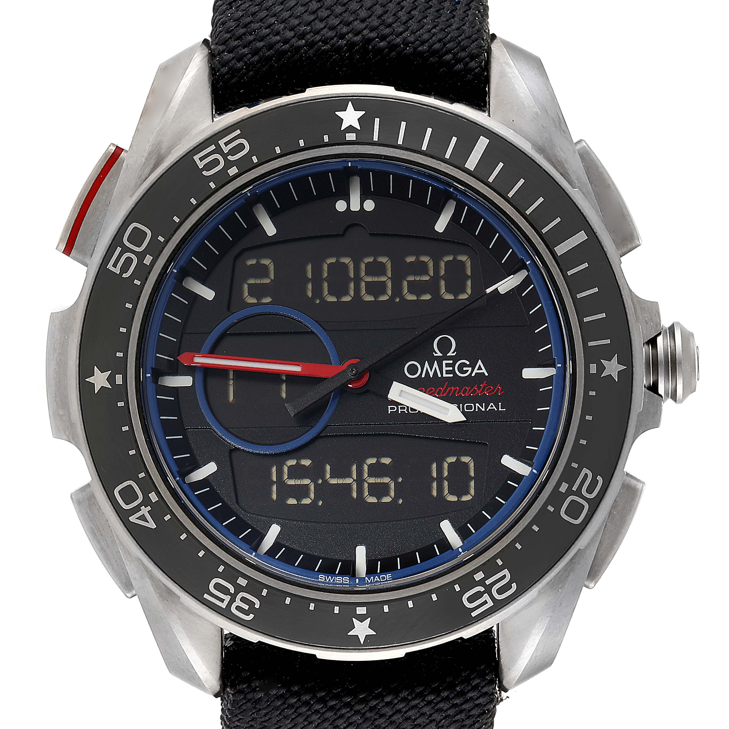 Omega Speedmaster Regatta X‑33 ETNZ Titanium Limited Watch 318.92.45.79.01.001 SwissWatchExpo