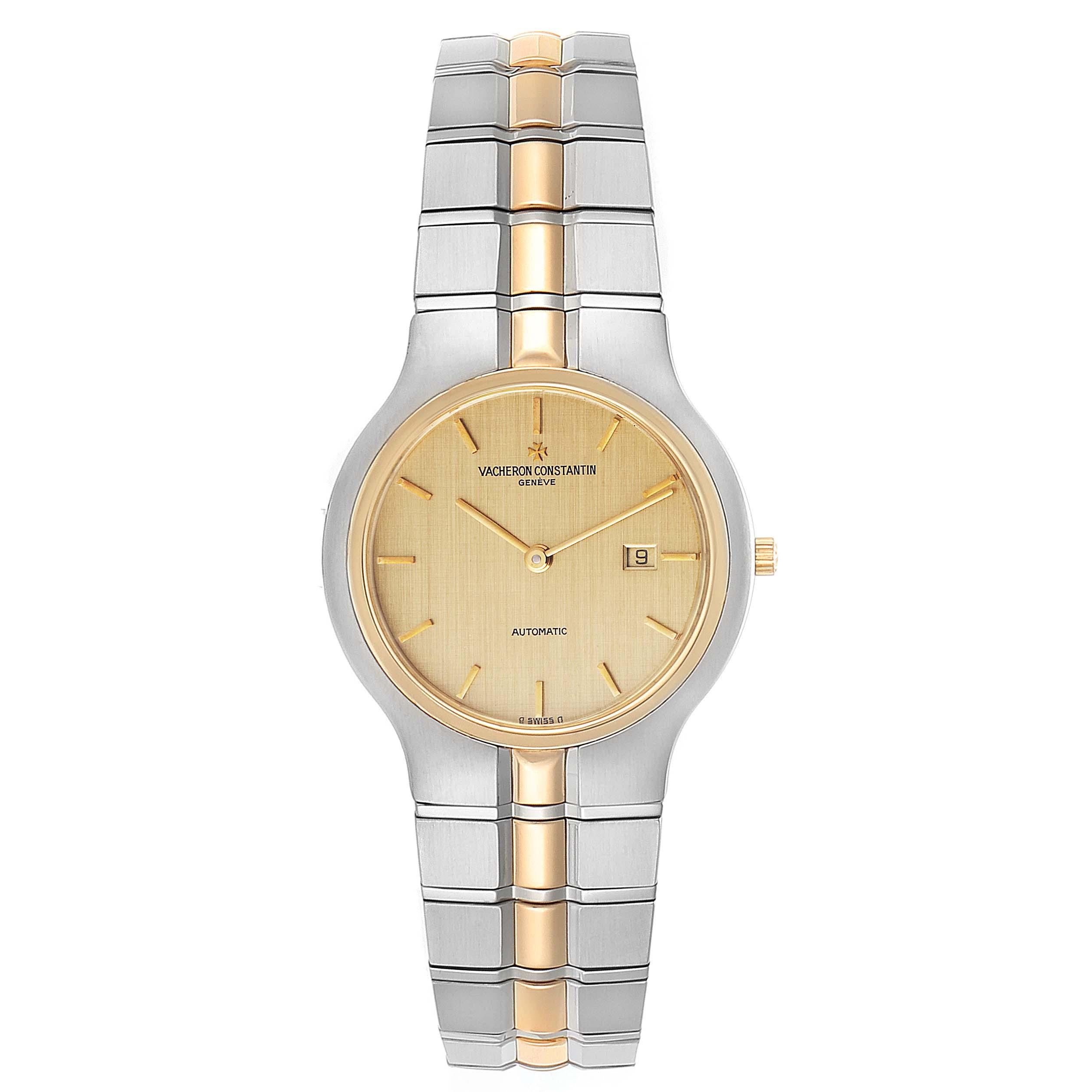 Vacheron Constantin Phidias 33 Steel Yellow Gold Ladies Watch 25750 Card SwissWatchExpo