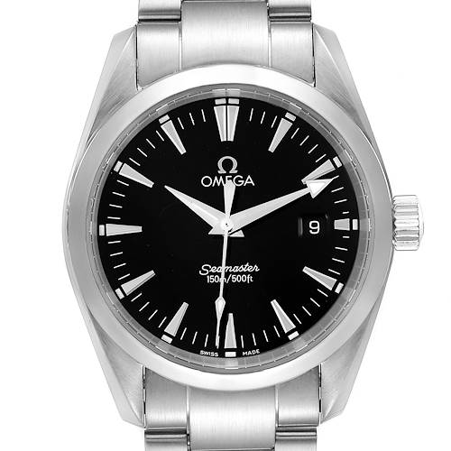 Photo of Omega Seamaster Aqua Terra 36 Black Dial Steel Mens Watch 2518.50.00
