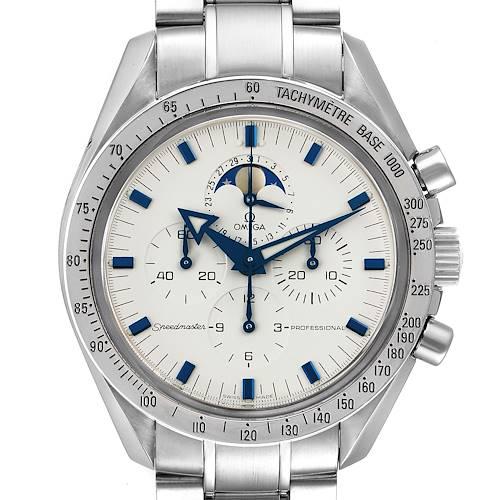 Photo of Omega Speedmaster MoonPhase Chronograph Mens Watch 3575.20.00