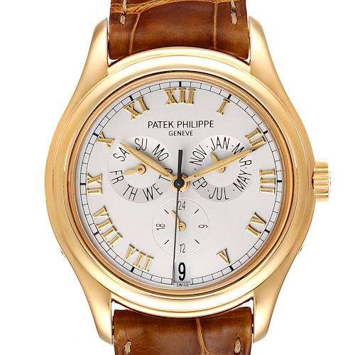 Photo of Patek Philippe Complicated Annual Calendar Yellow Gold Mens Watch 5035