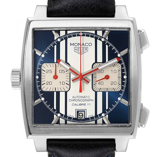 Photo of Tag Heuer Monaco McQueen Chronograph Limited Edition Watch CAW211D