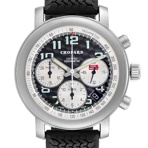 Photo of Chopard Happy Mille Miglia Titanium Chronograph Mens Watch 8407