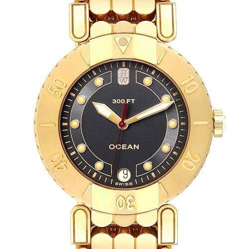 Photo of Harry Winston Submariner Ocean 38mm 18K Yellow Gold Mens Watch