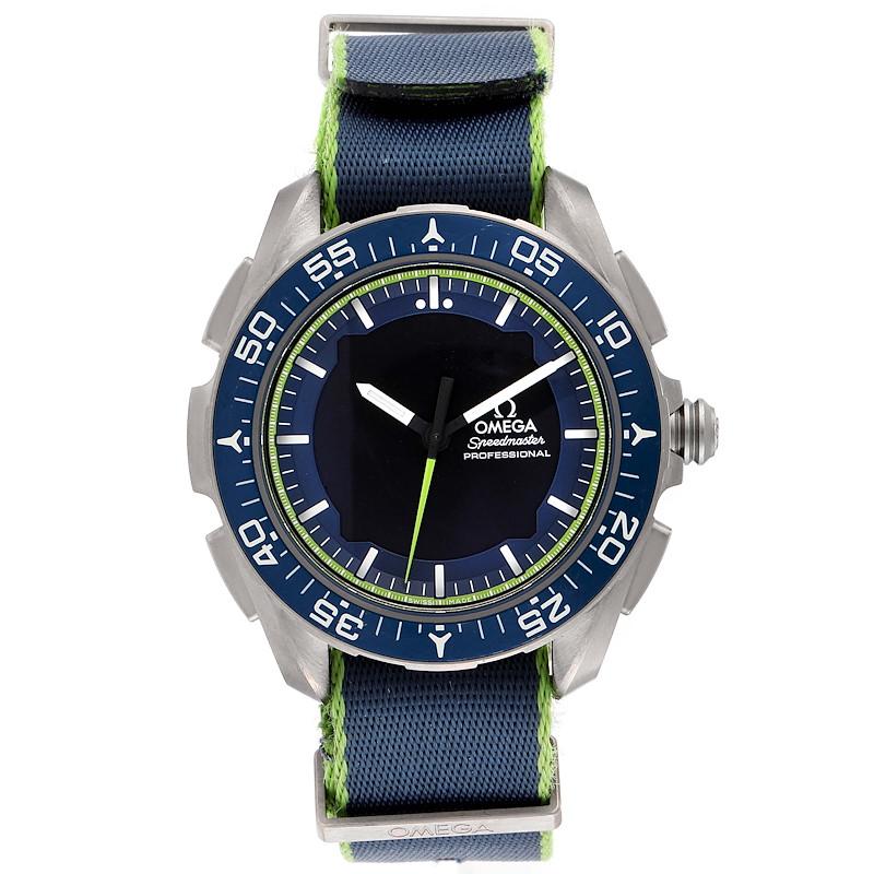 Omega Speedmaster Skywalker X-33 Solar Impulse Watch 318.92.45.79.03.001 SwissWatchExpo