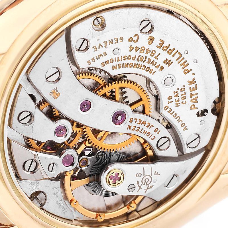 Patek Philippe Calatrava Yellow Gold Mechanical Vintage Mens Watch 2589 SwissWatchExpo