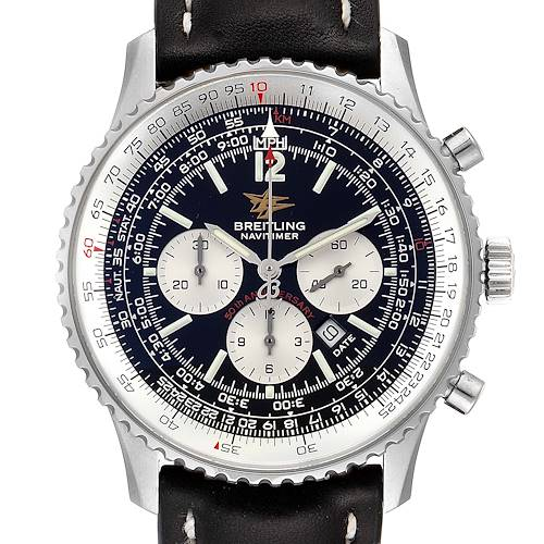 Photo of Breitling Navitimer 50th Anniversary Black Dial Steel Mens Watch A41322