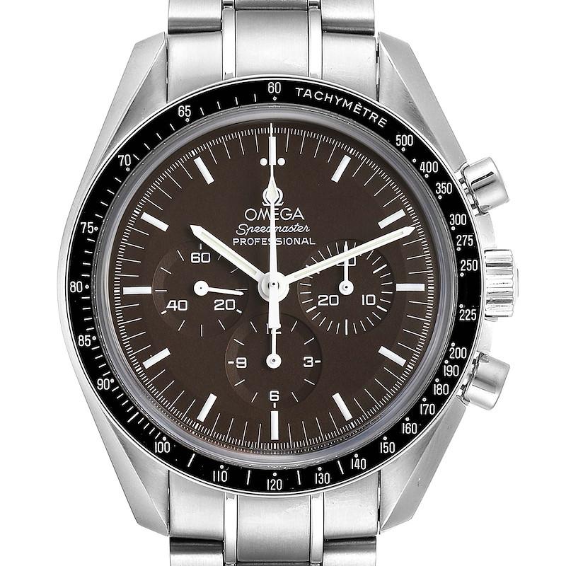 Omega Speedmaster Brown Dial Exhibition Moon Watch 311.30.42.30.13.001 SwissWatchExpo