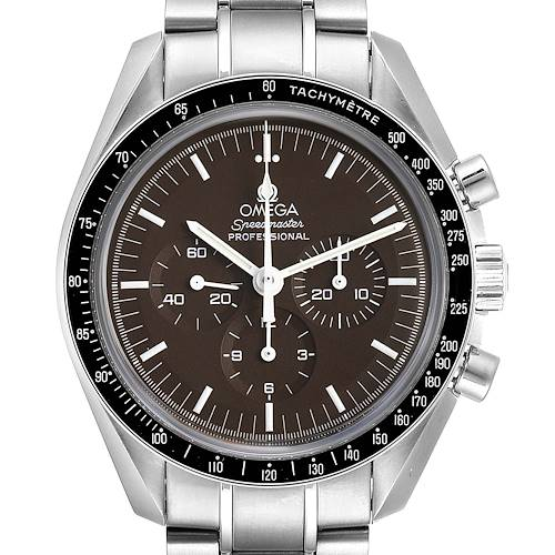 Photo of Omega Speedmaster Brown Dial Exhibition Moon Watch 311.30.42.30.13.001