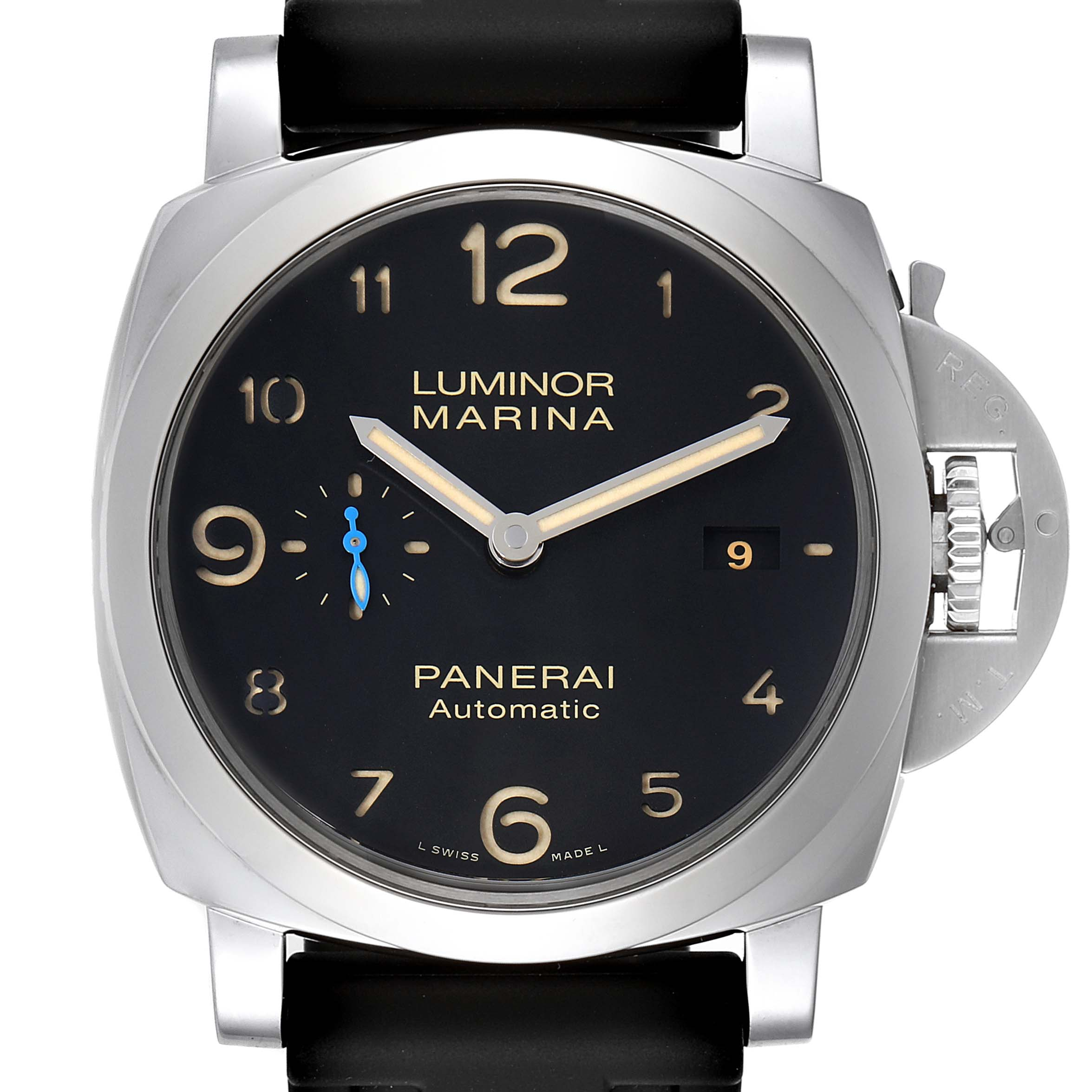 Photo of Panerai Luminor 1950 Marina Mens 44mm Watch PAM01359 Box Papers