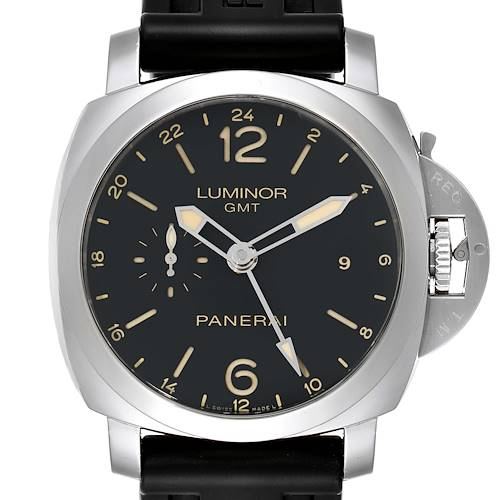 Photo of Panerai Luminor GMT 44mm Steel Mens Watch PAM00531 Box Papers