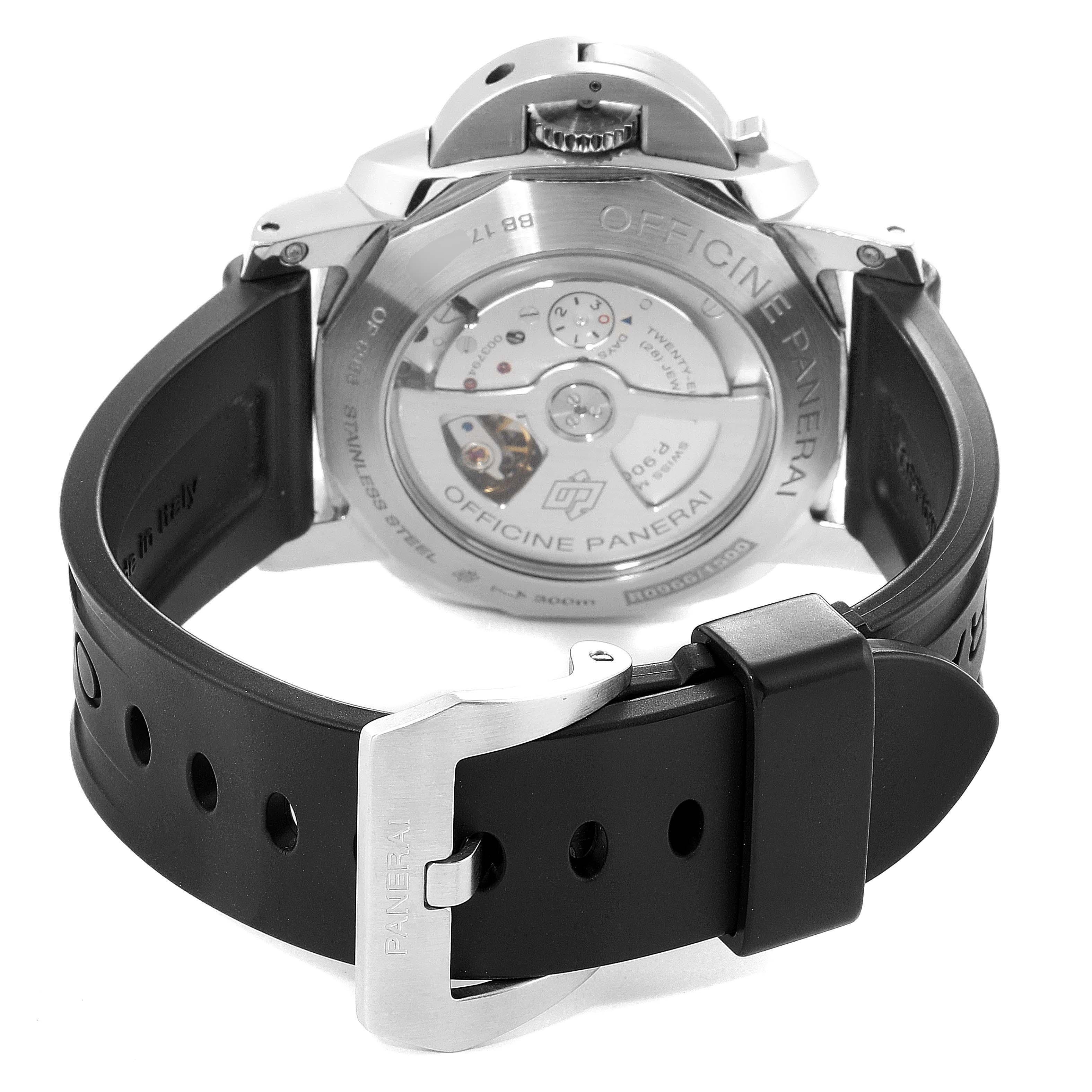 Panerai Luminor GMT 44mm Steel Mens Watch PAM00531 Box Papers SwissWatchExpo