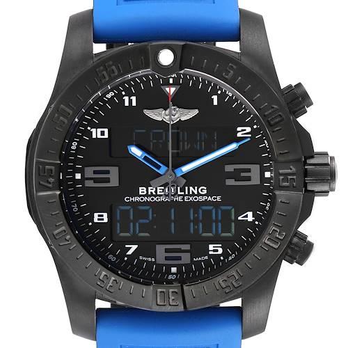 Photo of Breitling Exospace DLC Coated Titanium Mens Watch VB5510 Unworn