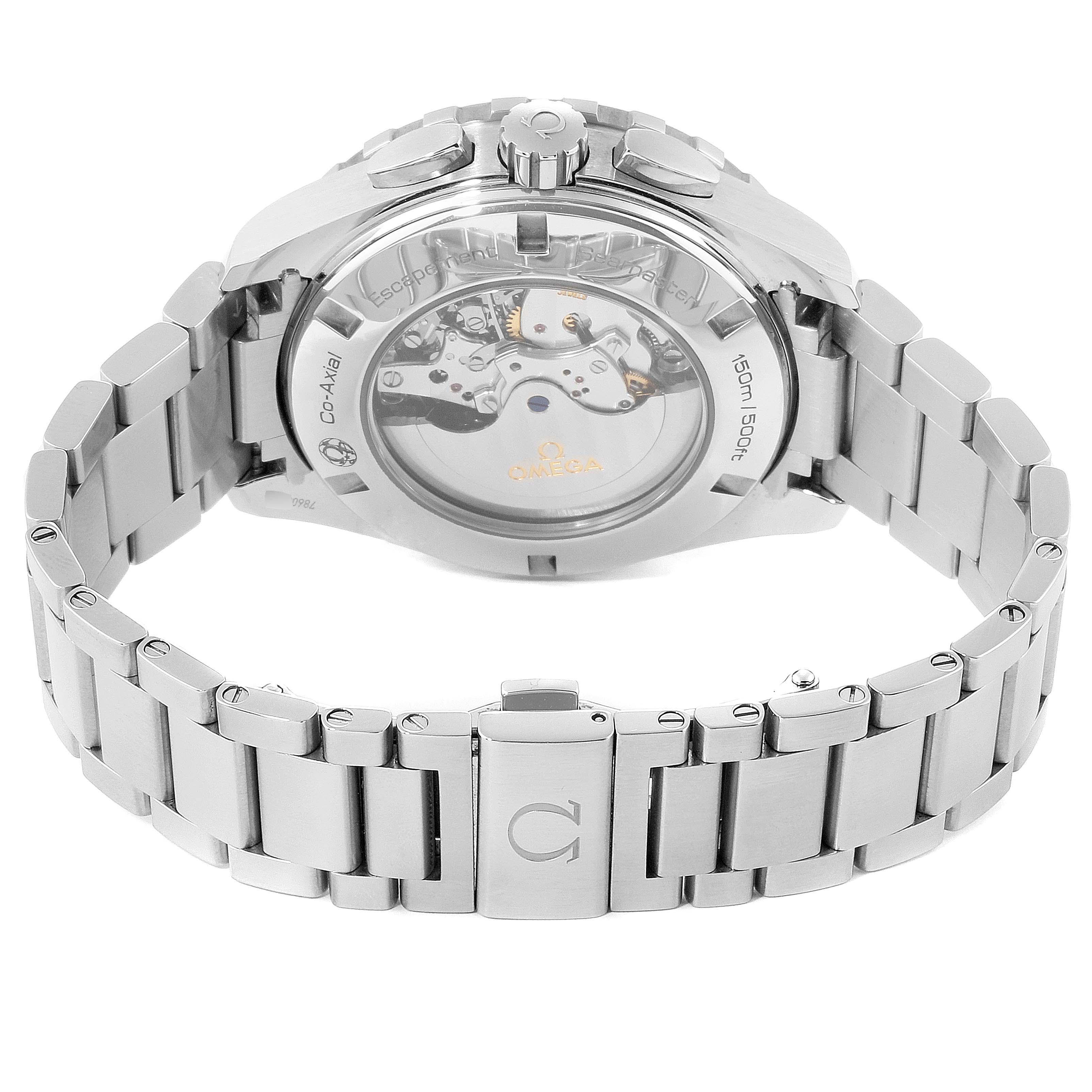 Omega Seamaster Aqua Terra GMT Watch 231.10.44.52.06.001 Box Papers SwissWatchExpo