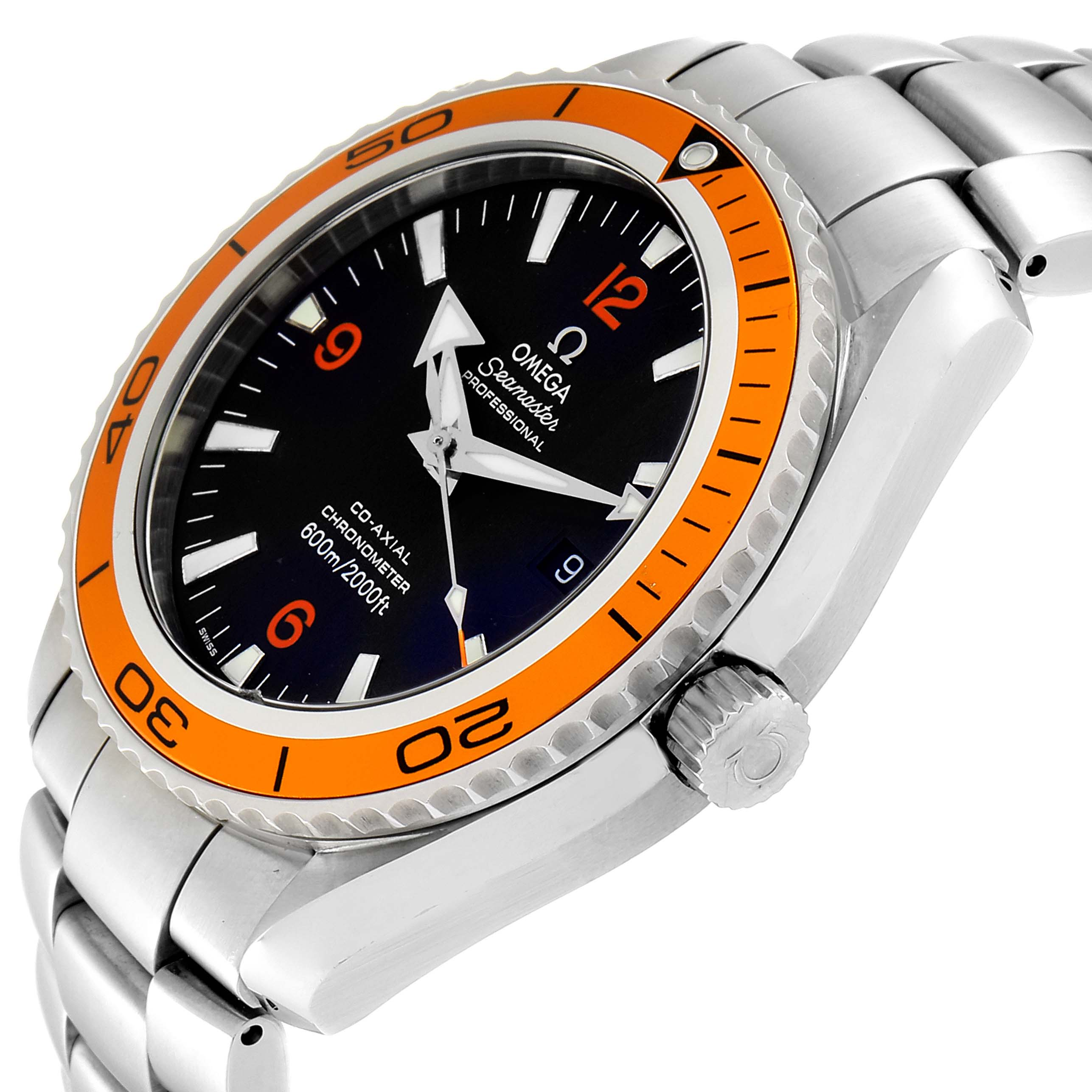 Omega Seamaster Planet Ocean 45 mm Mens Watch 232.30.46.21.01.002 SwissWatchExpo