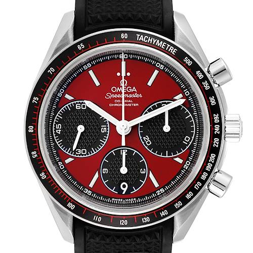 Photo of Omega Speedmaster Racing Red Chronograph Mens Watch 326.32.40.50.11.001