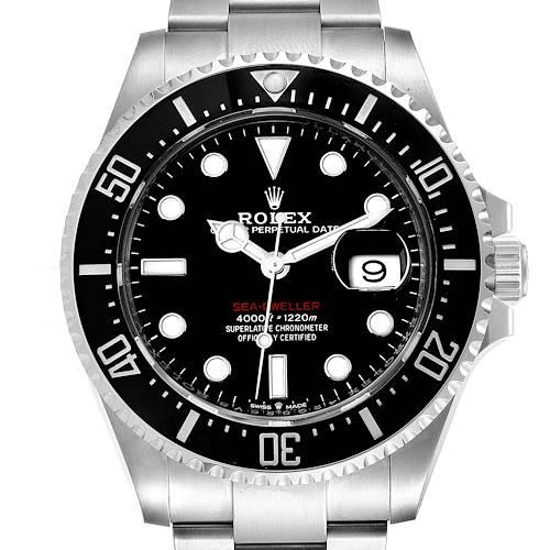Photo of Rolex Seadweller 43mm 50th Anniversary Steel Mens Watch 126600 Box Card Unworn