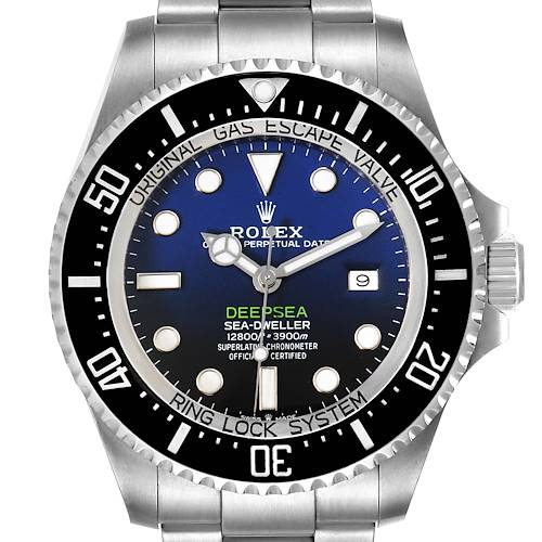 Photo of Rolex Seadweller Deepsea 44 Cameron D-Blue Dial Mens Watch 126660