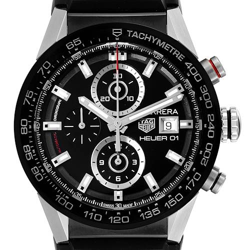 Photo of Tag Heuer Carrera Chronograph Automatic Mens Watch CAR201Z Card