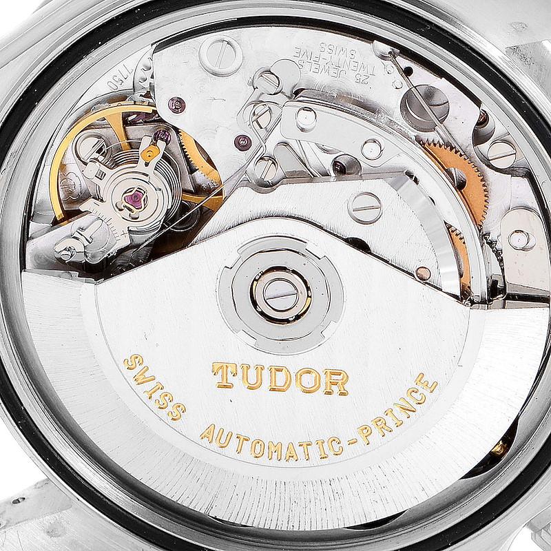 Tudor Prince Black Dial Chronograph Steel Mens Watch 79280 SwissWatchExpo