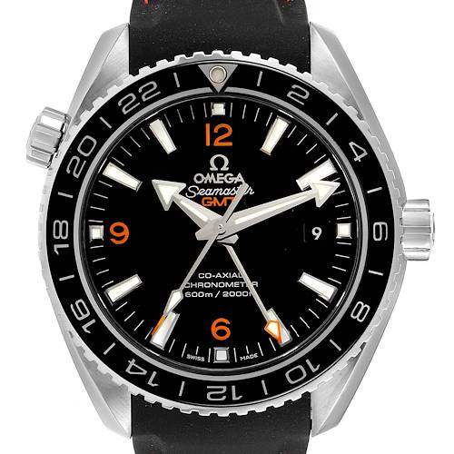 Photo of Omega Seamaster Planet Ocean GMT 600m Watch 232.32.44.22.01.002 Card