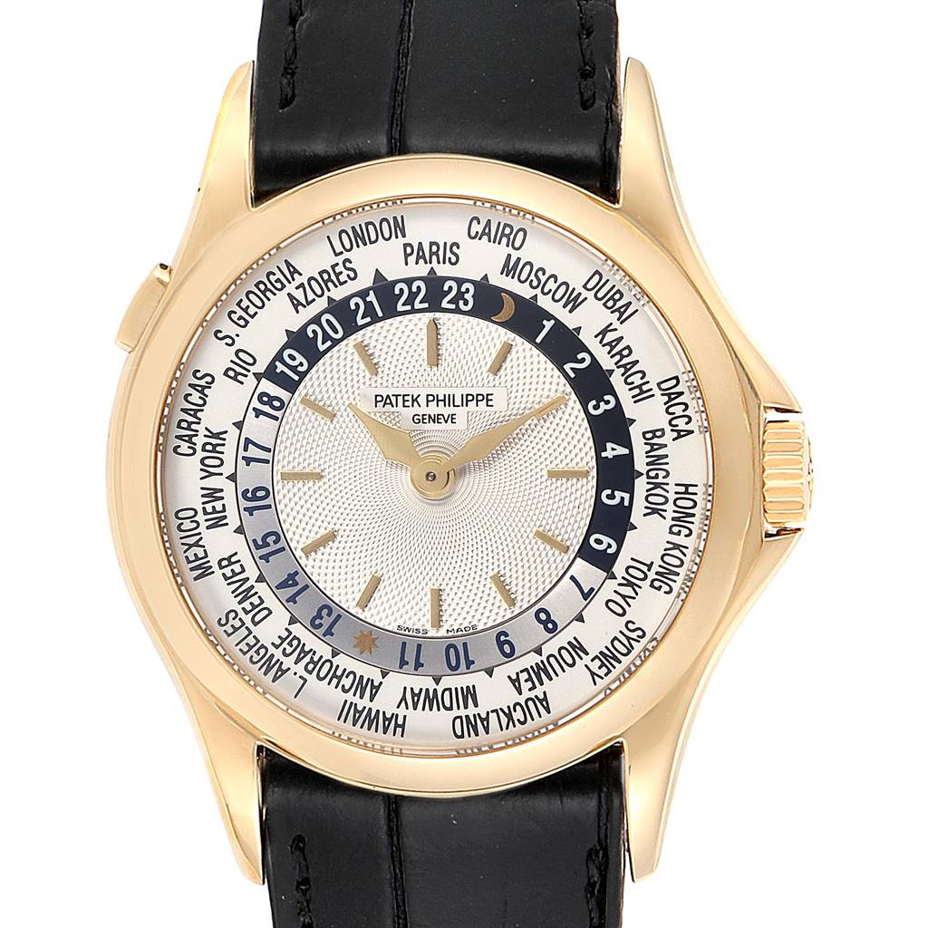 Photo of Patek Philippe World Time Complications Yellow Gold Mens Watch 5110 PARTIAL PAYMENT