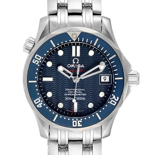 Photo of Omega Seamaster Midsize 36mm Co-Axial Blue Dial Watch 2222.80.00