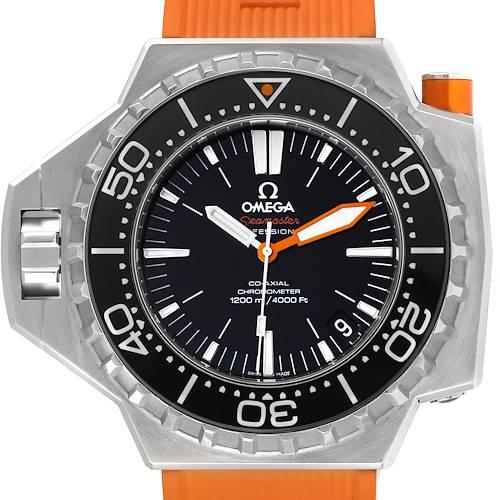 Photo of Omega Seamaster Ploprof 1200m Steel Mens Watch 224.32.55.21.01.002 Box Card