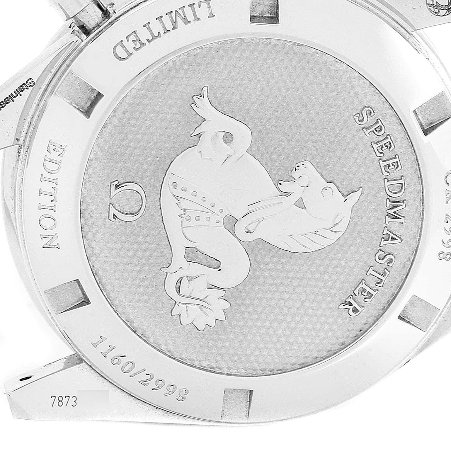 Omega Speedmaster Limited Edition Watch 311.33.40.30.02.001 Box Papers SwissWatchExpo
