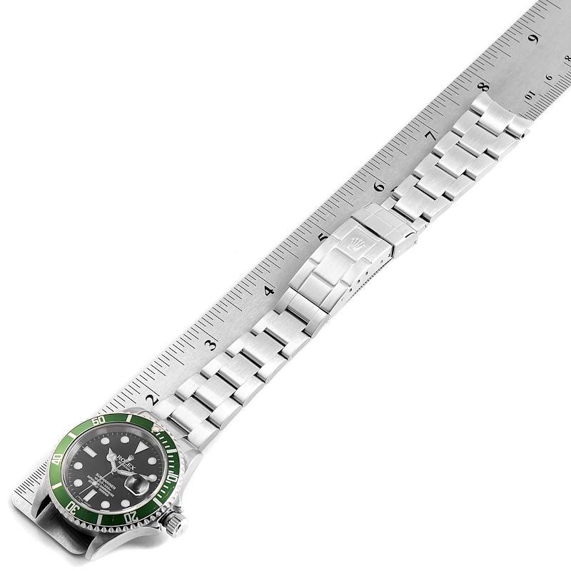 Rolex Submariner 50th Anniversary Green Kermit Mens Watch 16610LV SwissWatchExpo