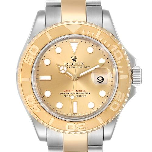 Photo of Rolex Yachtmaster Steel 18K Yellow Gold Mens Watch 16623
