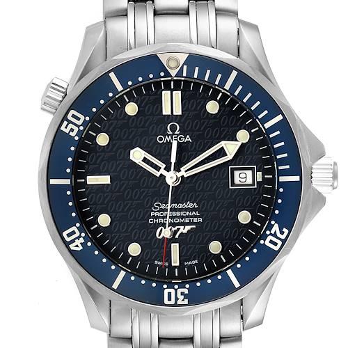 Photo of Omega Seamaster 40 Years James Bond Blue Dial Watch 2537.80.00 Unworn