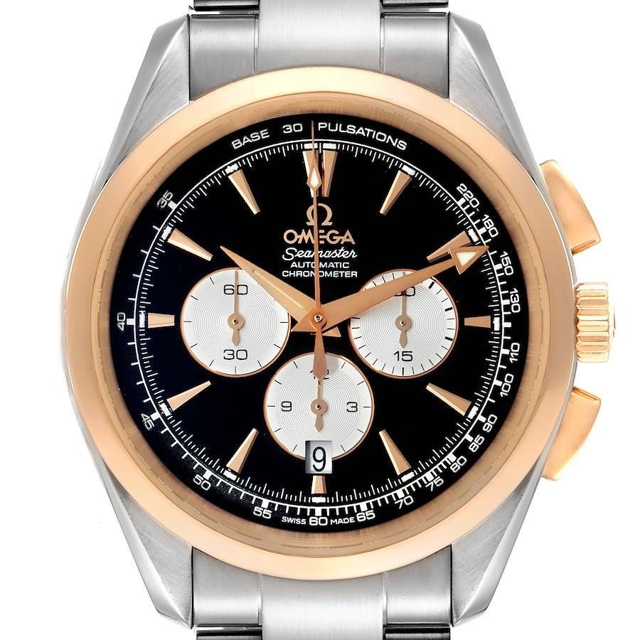 Omega Seamaster Aqua Terra Steel Rose Gold Mens Watch 221.20.42.40.01.002 SwissWatchExpo