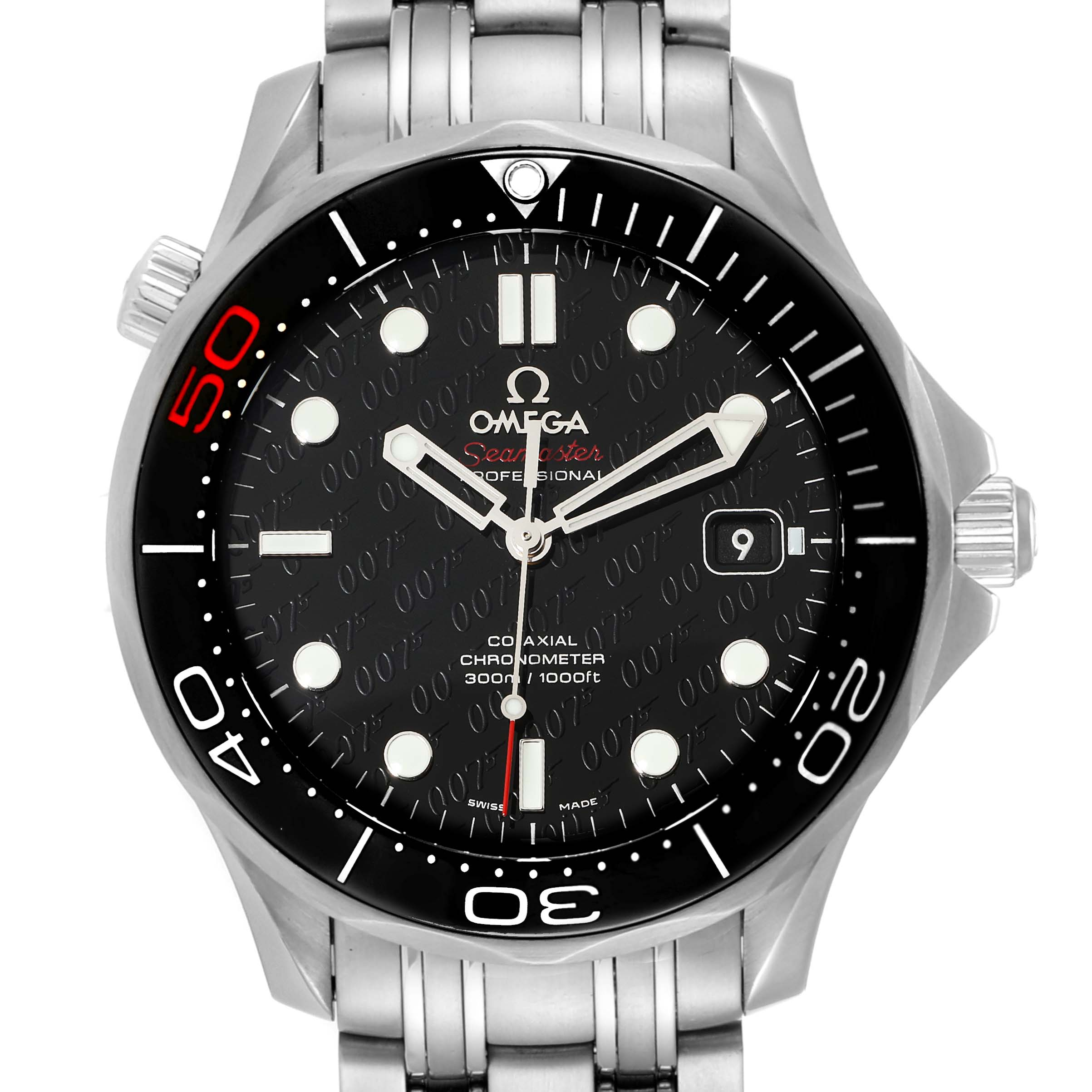 Photo of Omega Seamaster Limited Edition Bond 007 Watch 212.30.41.20.01.005