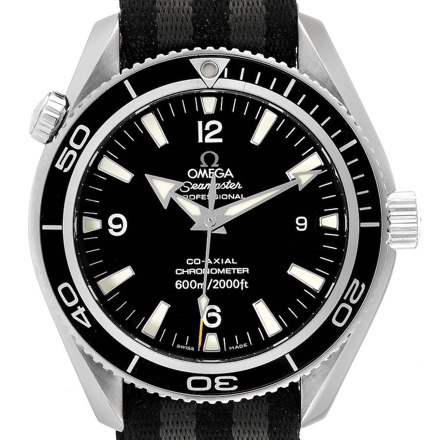 Omega Seamaster Planet Ocean 42 Co-Axial Mens Watch 2201.50.00 Box Card SwissWatchExpo